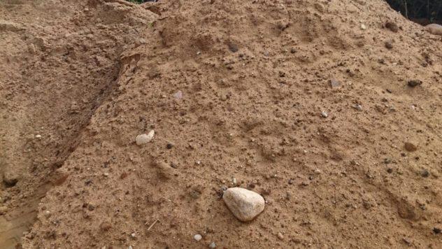 Песчано-гравийная смесь - купить ПГС в Минске